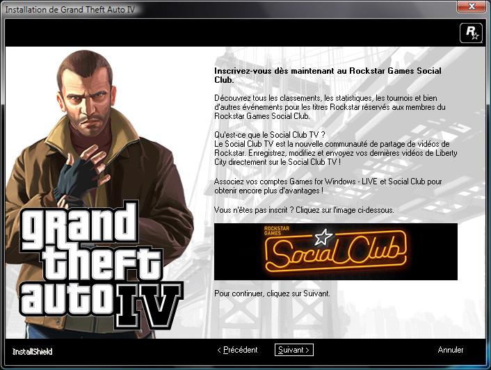 Grand Theft Auto Iv Rockstar Games Social Club Download ...